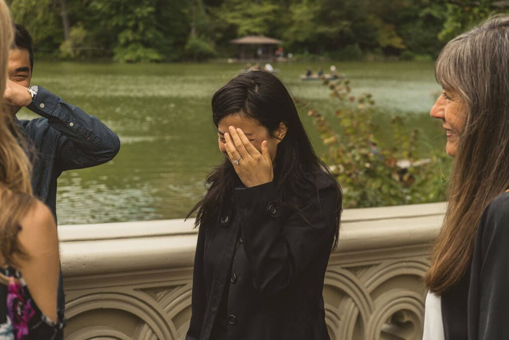 Photo 5 Marriage Proposal on Bow Bridge, Central Park. | VladLeto