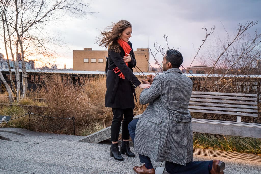 Photo 7 High Line Marriage Proposal 2 | VladLeto