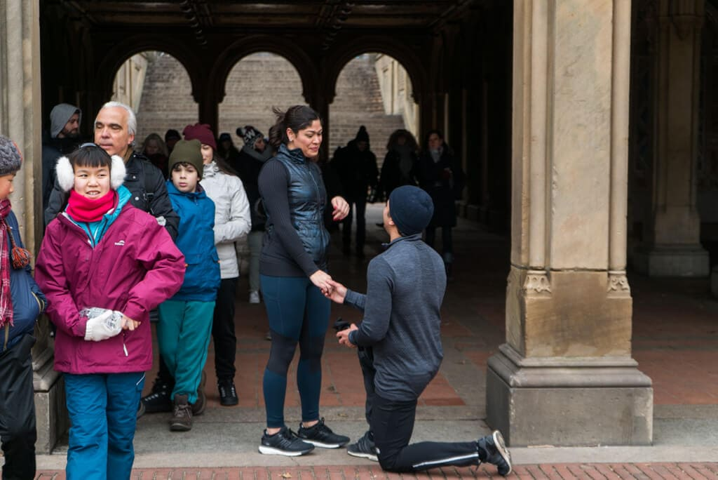 Photo 5 Central Park Bethesda Terrace Marriage Proposal | VladLeto