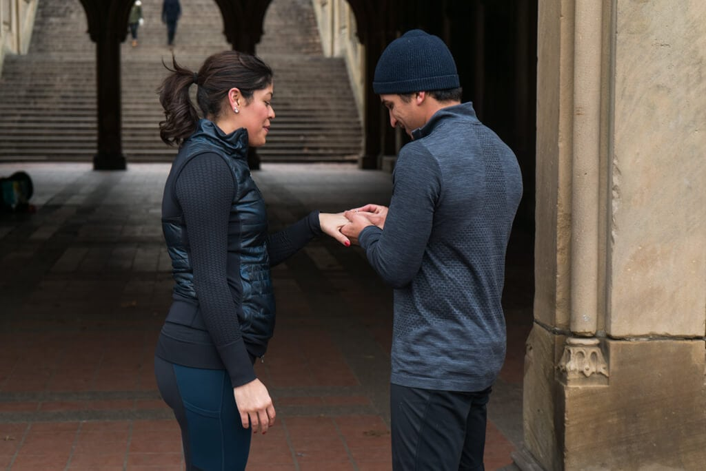 Photo 7 Central Park Bethesda Terrace Marriage Proposal | VladLeto