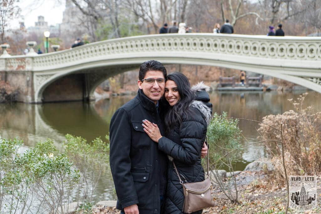 Photo 11 Wagner Cove Surprise Proposal in Central Park | VladLeto