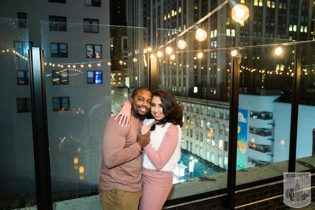 Photo 15 Rooftop Proposal with Empire State view | VladLeto