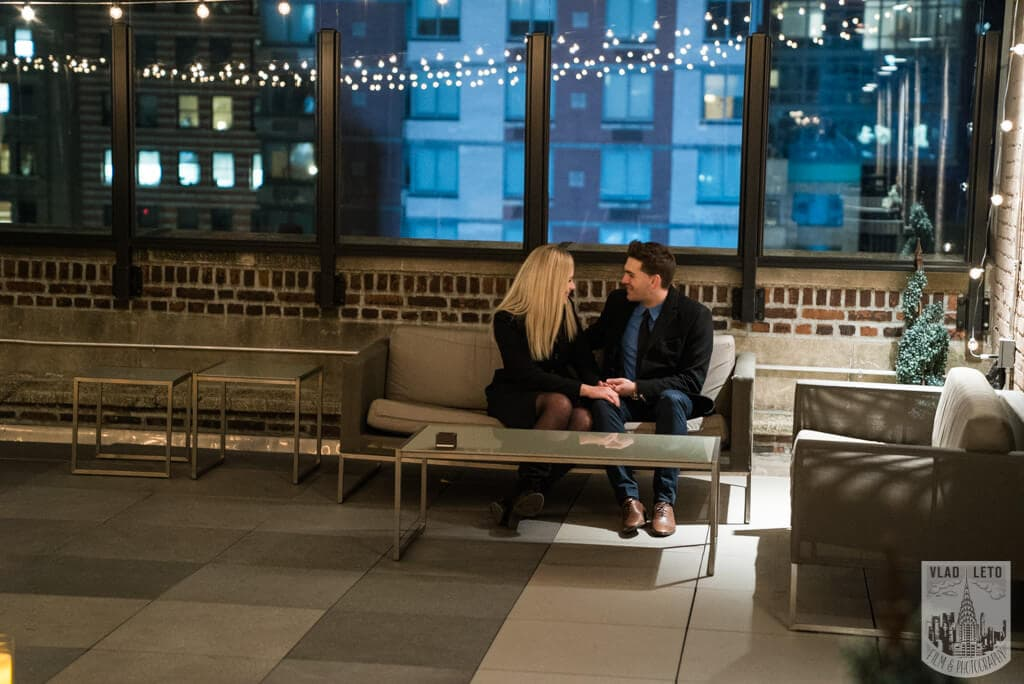 Photo 13 Private Rooftop Proposal with Empire State Building view