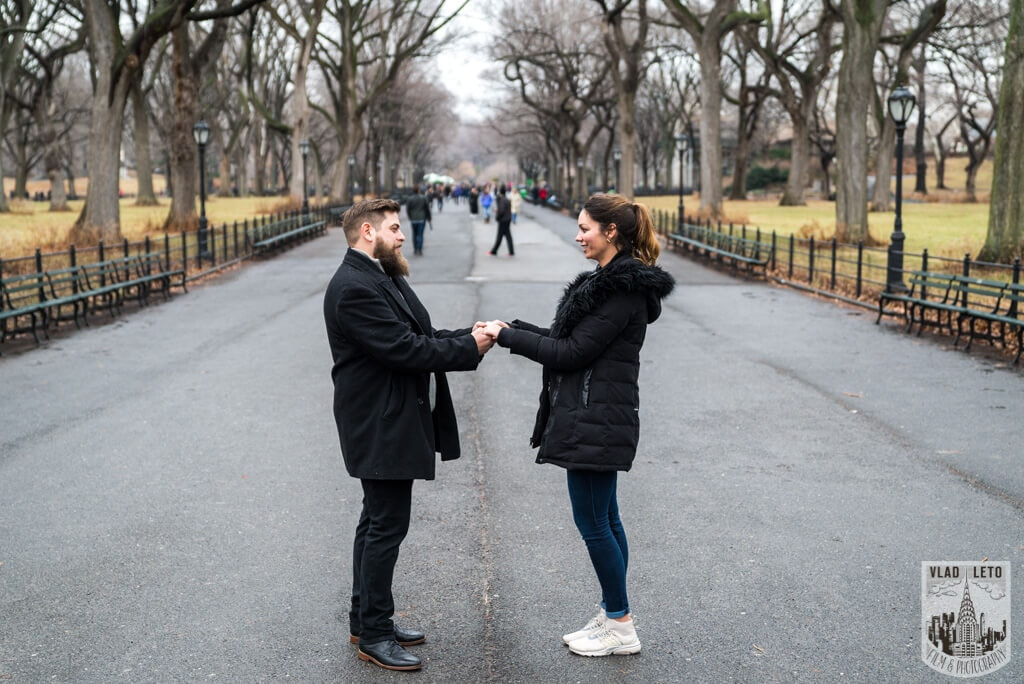 Photo 15 Cats Rock Proposal in Central Park | VladLeto