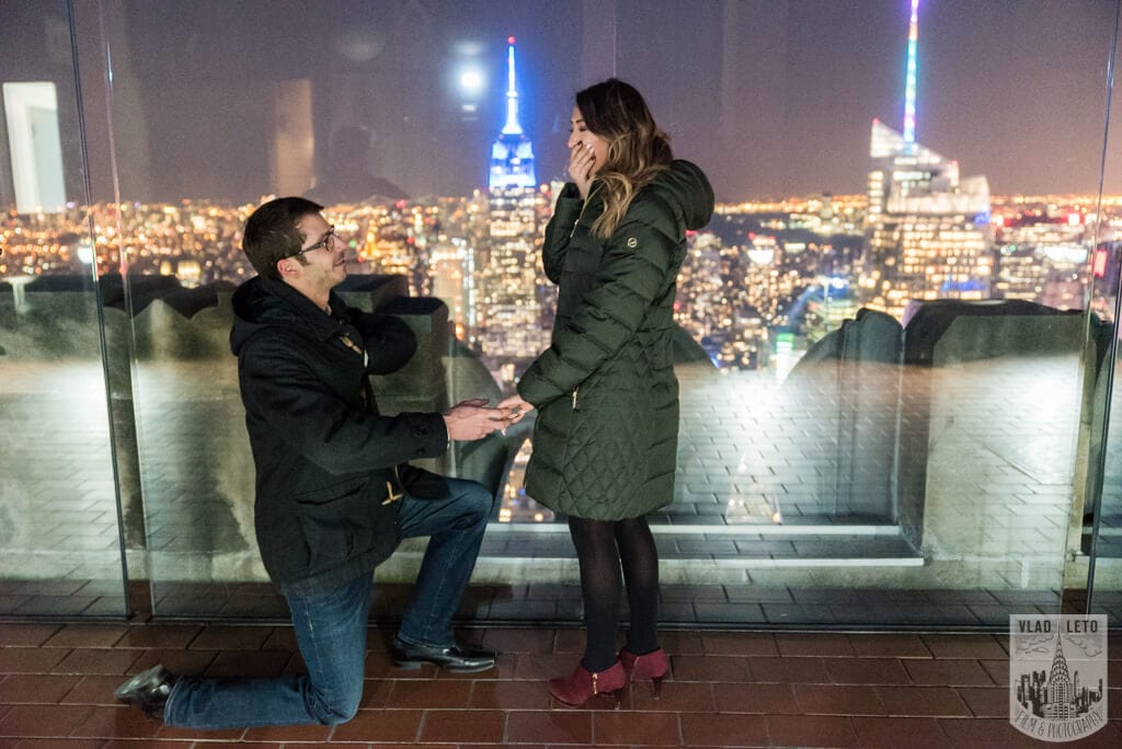 Photo 21 Top of the Rock Marriage Proposal 2