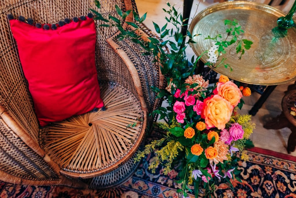 Colourful wedding inspired by Morocco