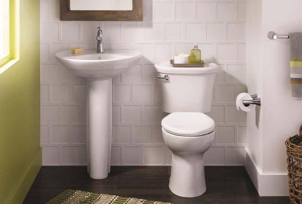 "Glossy White Ceramic 6""x6"" Tile"