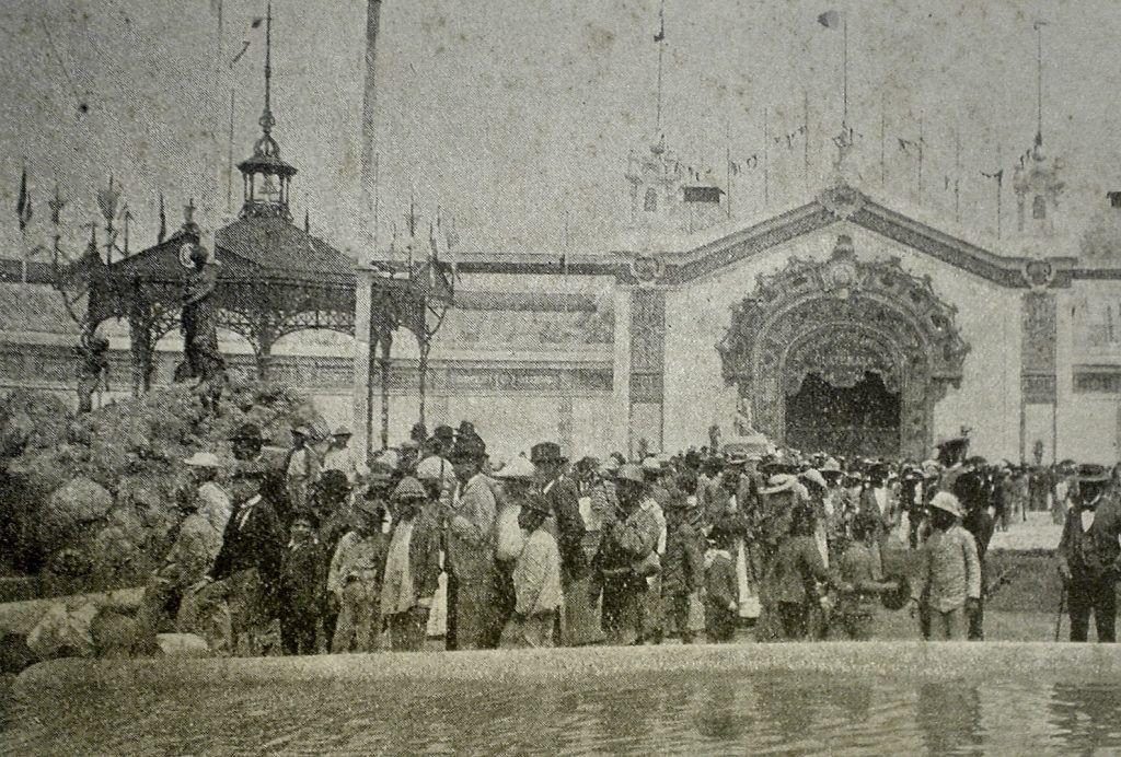 Exteriores del pabellón de la Exposición Centroamericana 1897