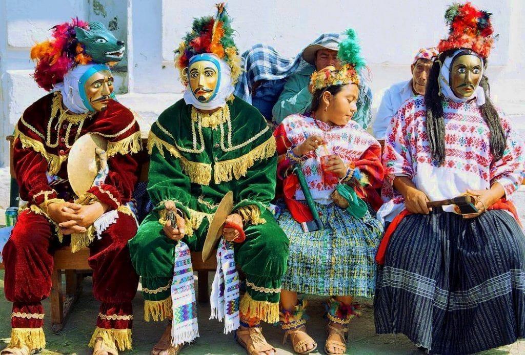 Trajes típicos de Rabinal (Baja Verapaz)