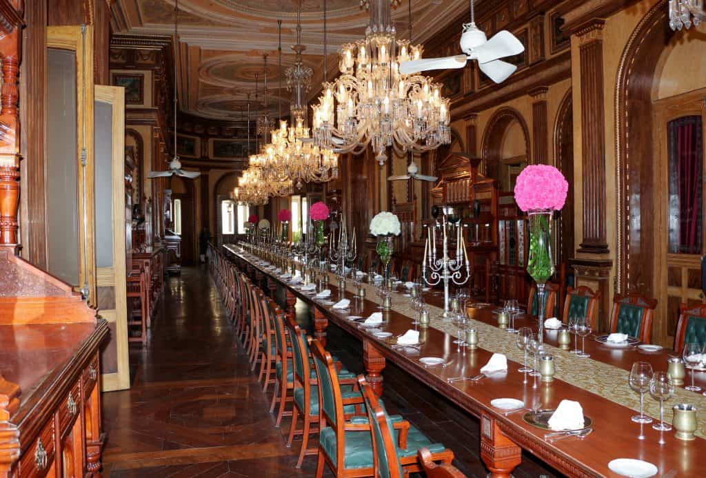 image of a Long Table in a formal Dining Room