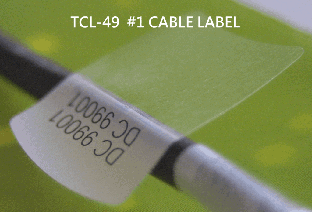 TCL 49 Cable Labels