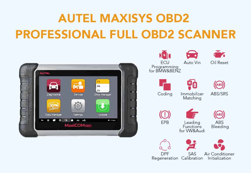 10 Best Professional OBD2 Scanners Review and Comparison 2019 - OBD