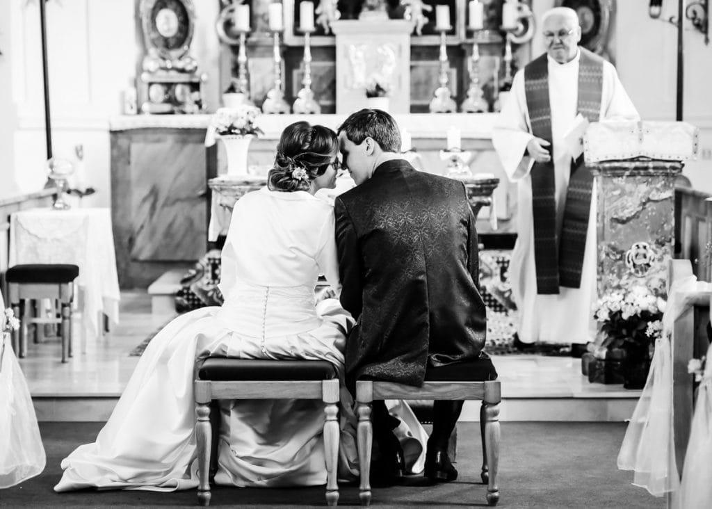 Fotograf Kempten Brautpaar Kirche Liebe