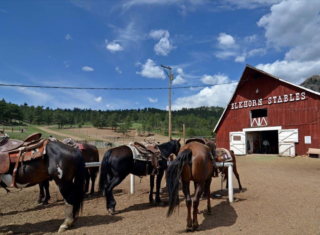 elkhorn stables estes park