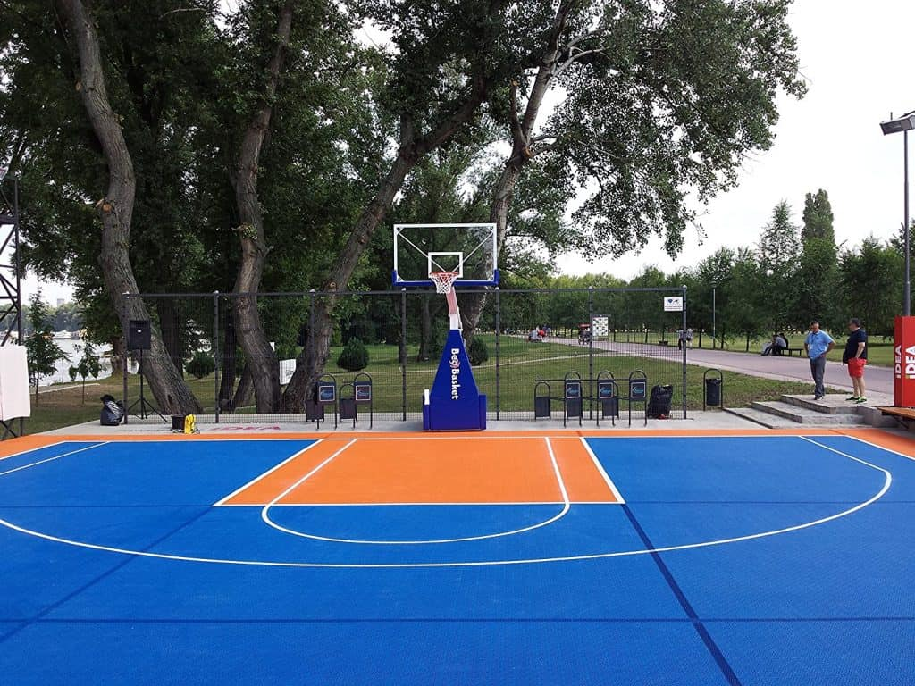 Tips To Make Your Own Basketball Court Stencils Layouts Dimensions