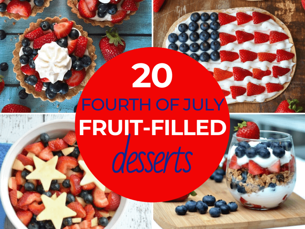 fourth of july fruit desserts
