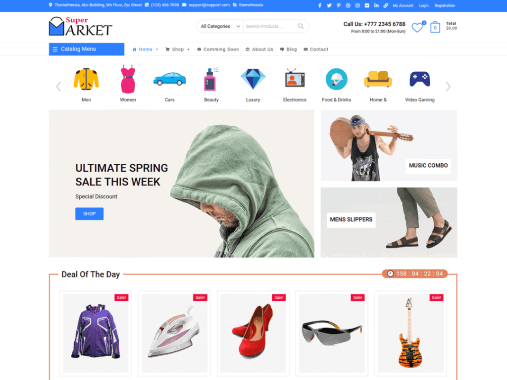Supermarket is the perfect theme for your next WooCommerce project