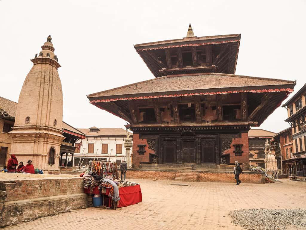 Durbar Square Temples Bhaktapur