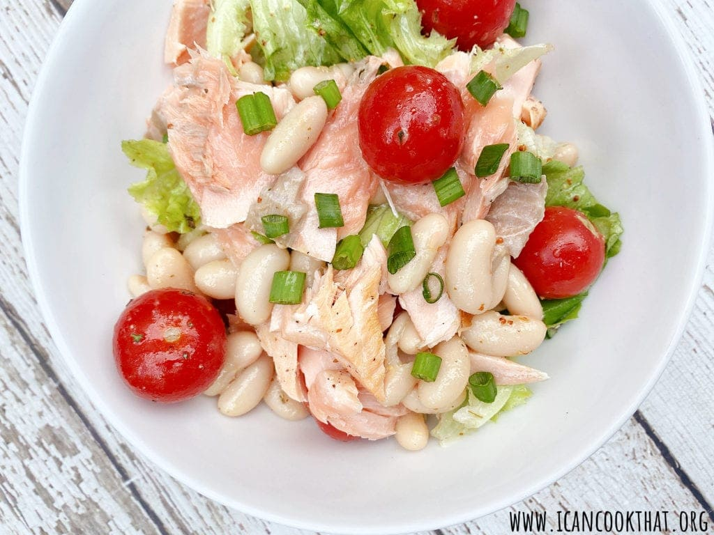 Salmon Bean Salad