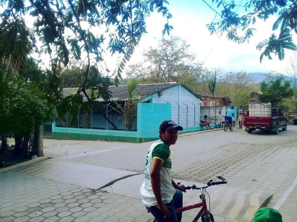 Paseando en bicicleta Magdalena