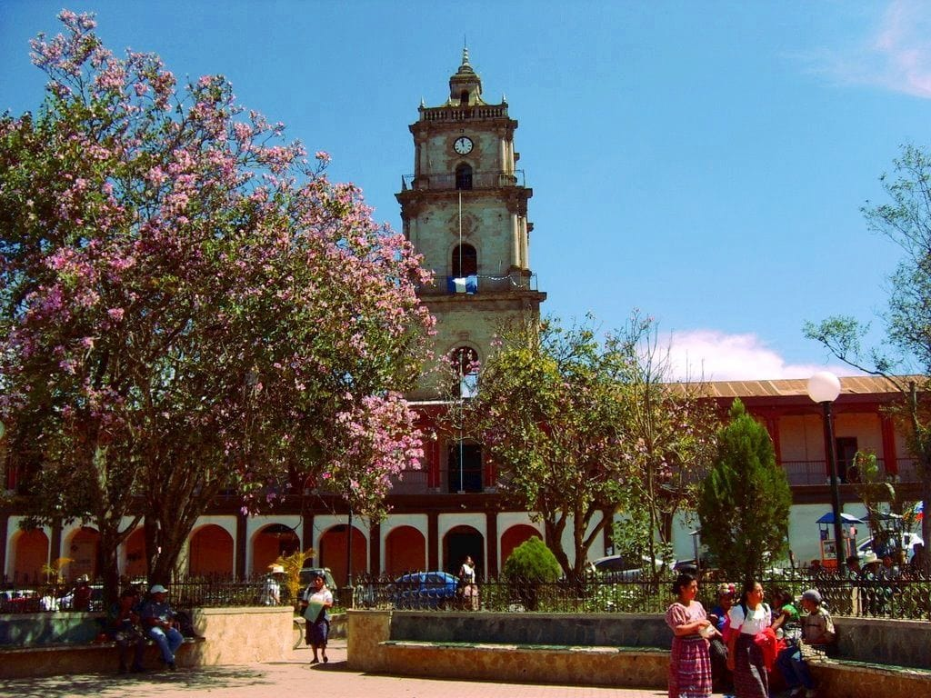 Parque Central Santa Cruz del Quiché