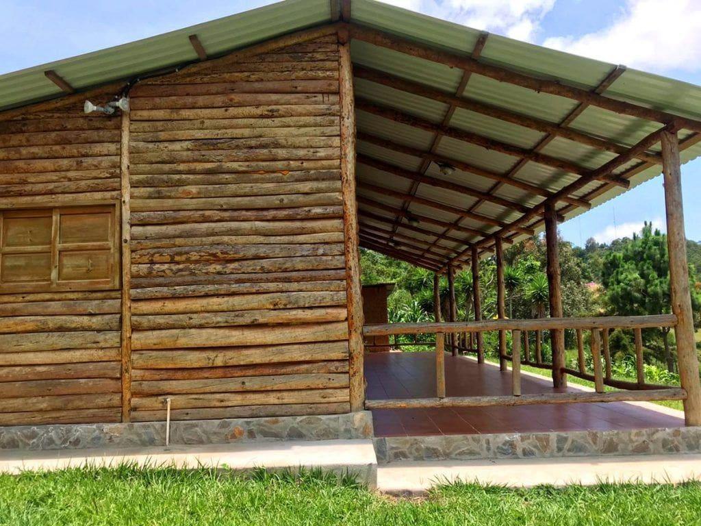 Cabaña para turismo en la naturaleza