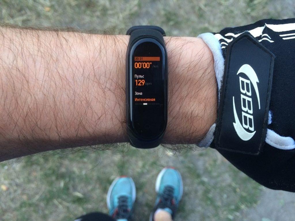 Огляд Mi Band 4 і біговий тест на 57 кілометрів 7
