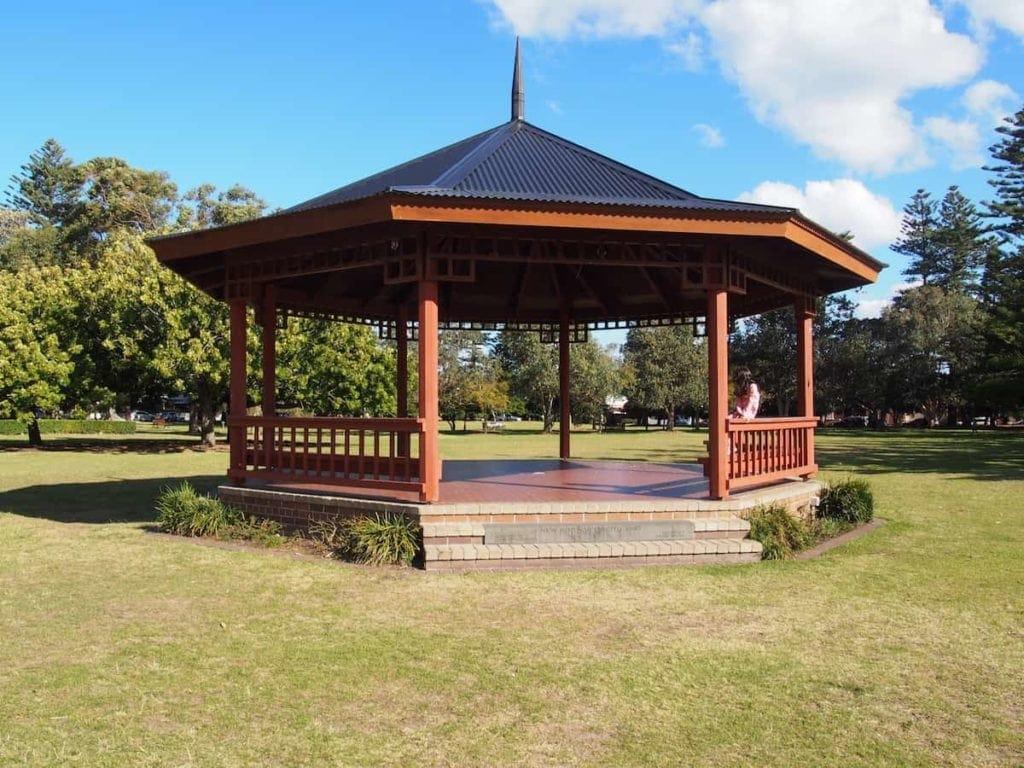 Centennial Park in Cooks Hill