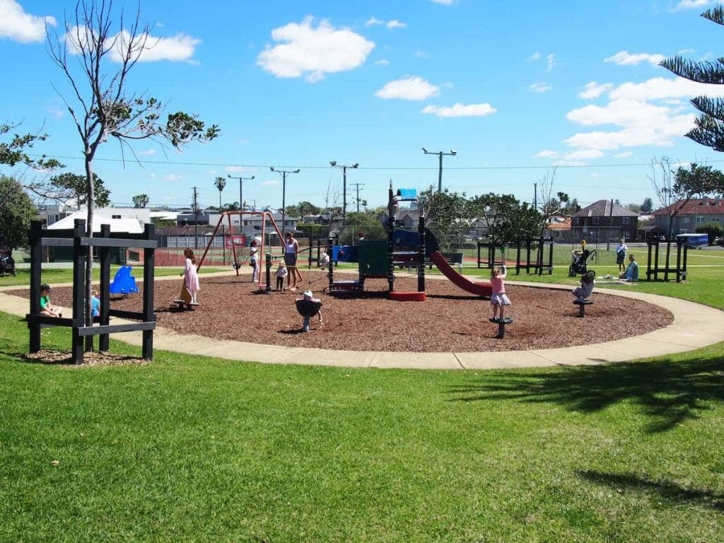 Empire Park in Merewether