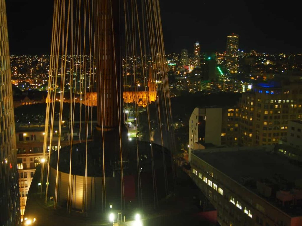 Swissotel Sydney Night View
