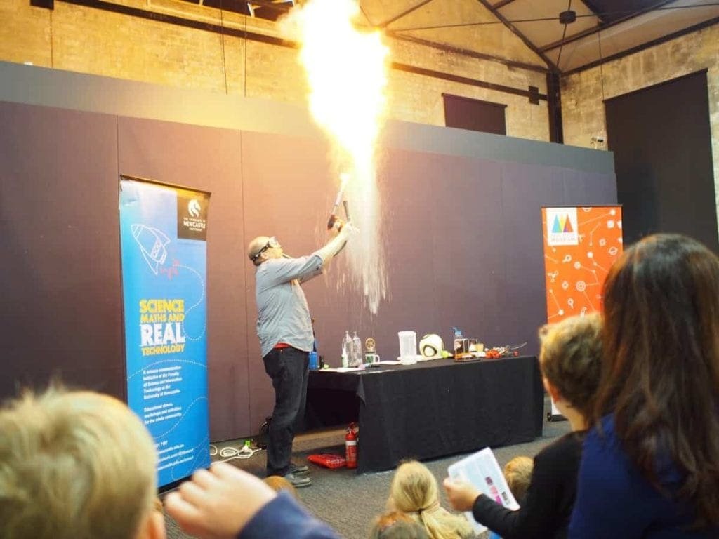 Newcastle Museum Science Shows