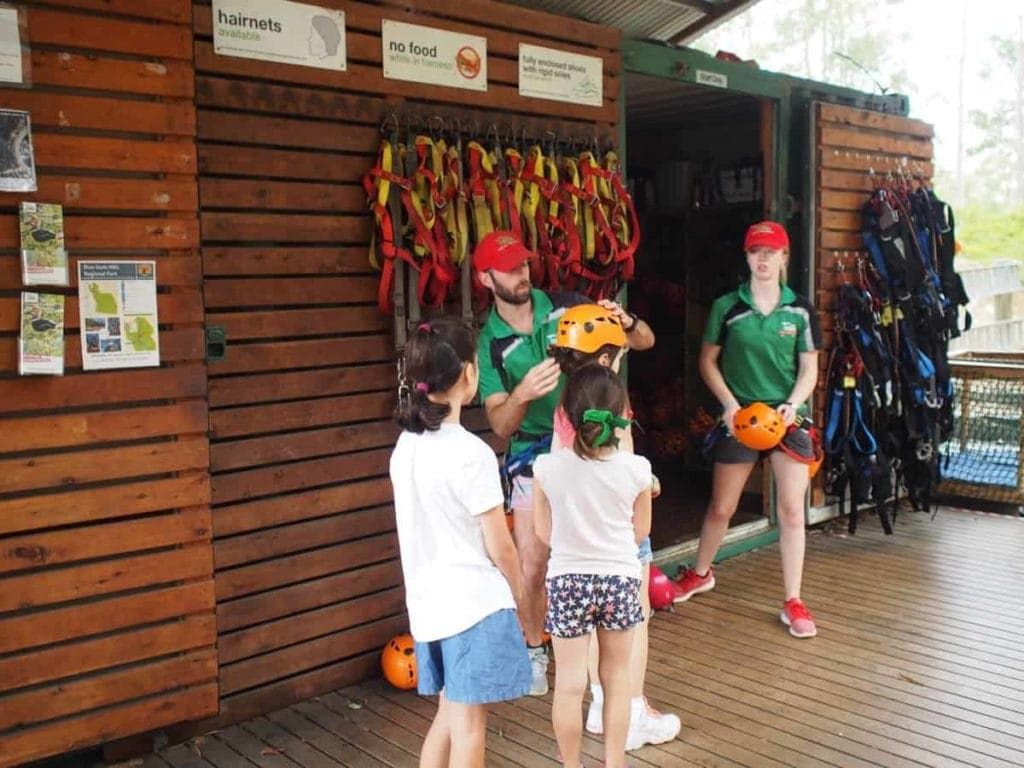 TreeTops Adventure Park Kids Training