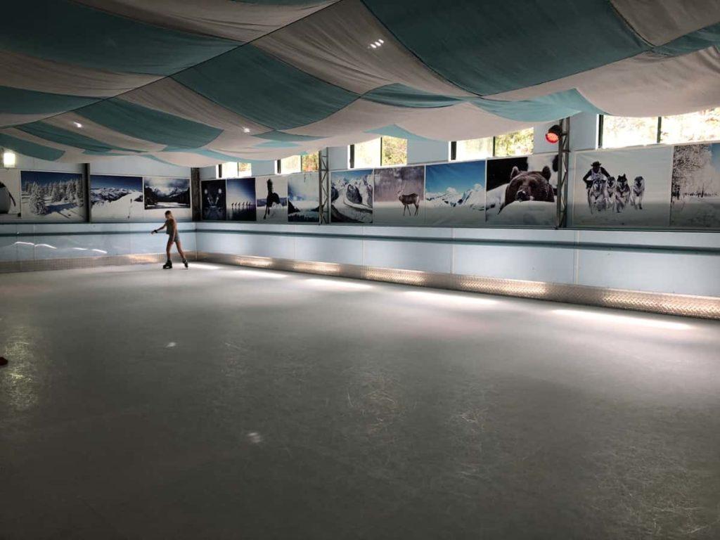 Toboggan Hill Park Hot Ice Skating