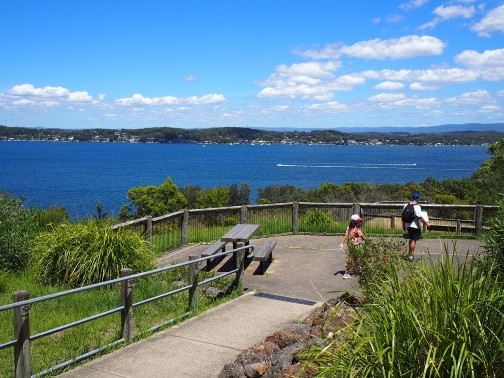 Sea Eagle Lookout Green Point Walk