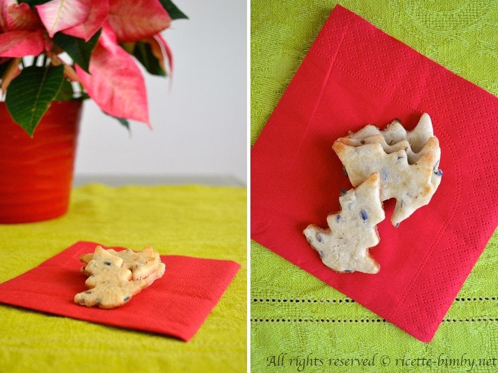 Biscotti alla lavanda senza glutine Bimby