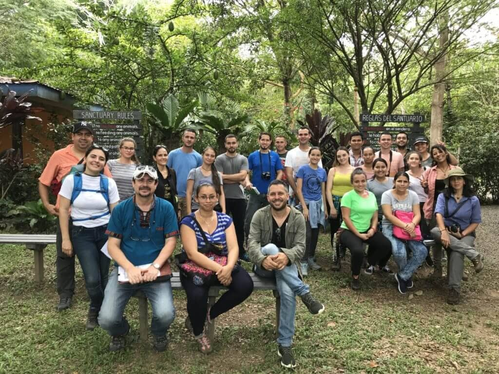 Corporate volunteering with wildlife