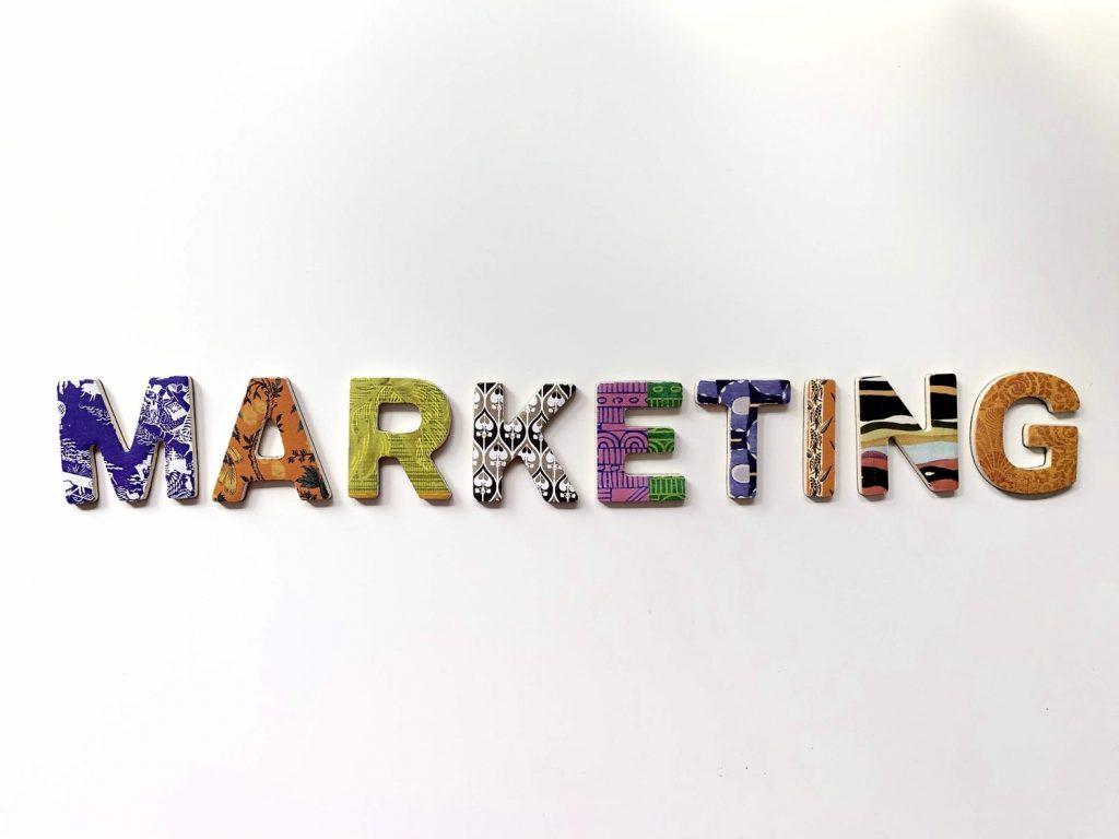 Marketing Schriftzug Marketingtool