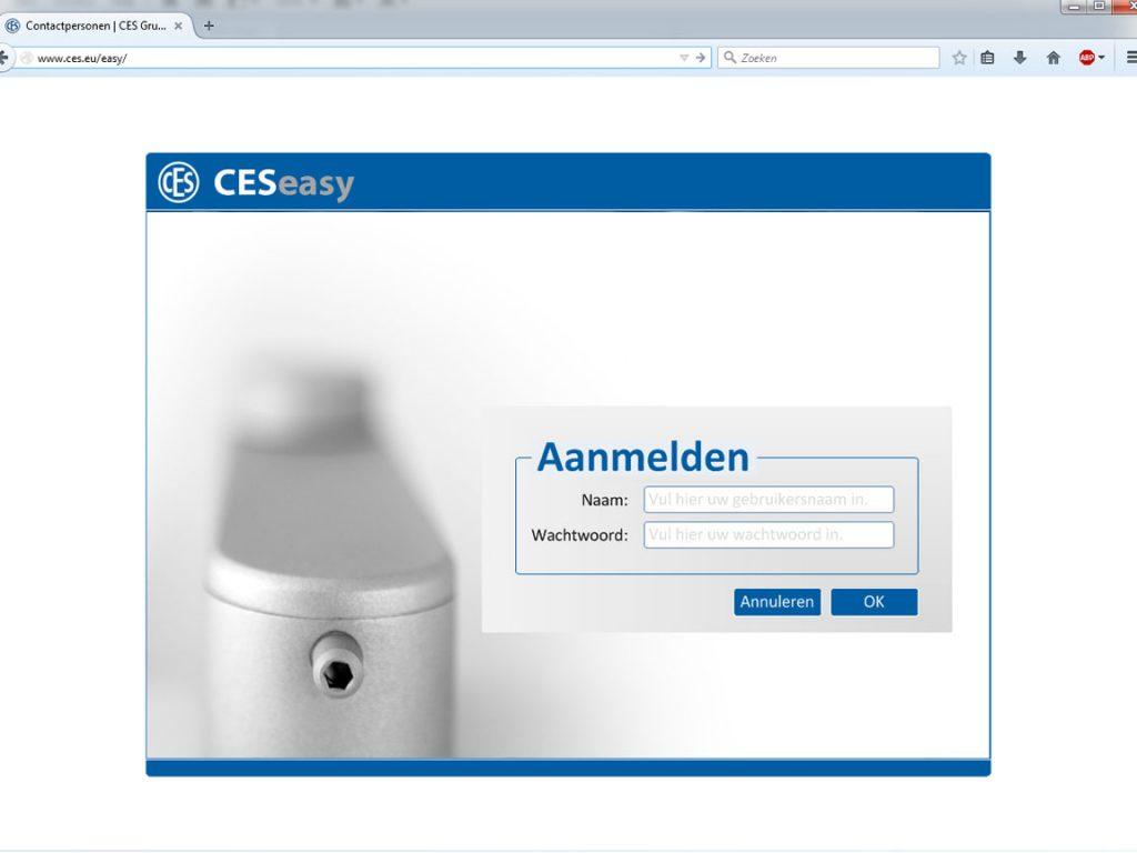 CESeasy sleutelbeheer