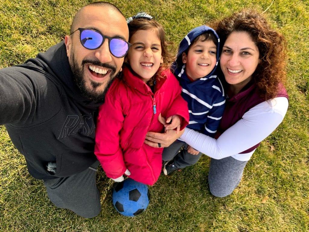 Joe Khoury and Family
