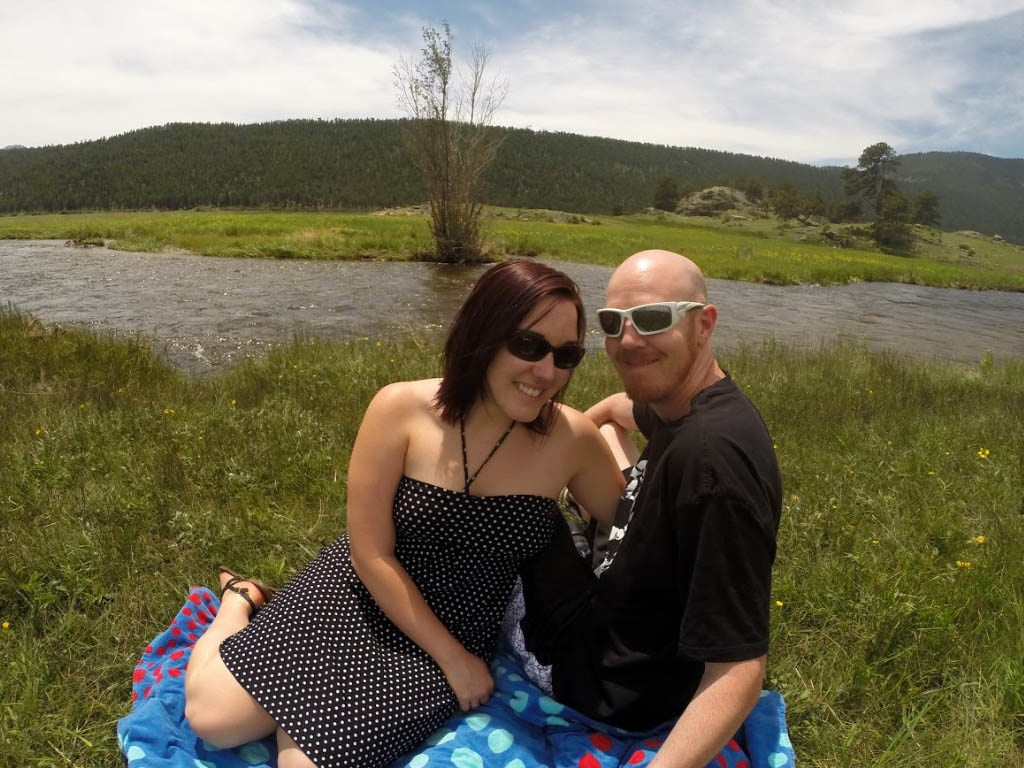 rocky mountain national park picnic