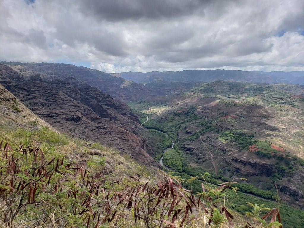 waimea canyon views - one of the best things to do in kauai