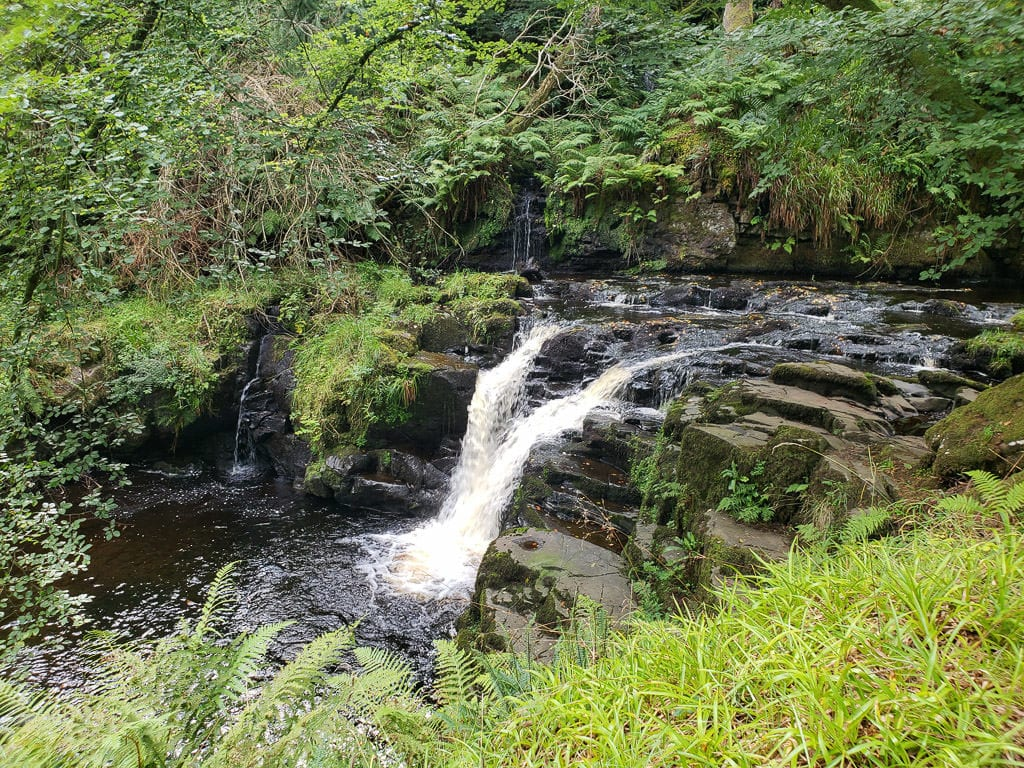 ireland road trip gelnariff waterfall