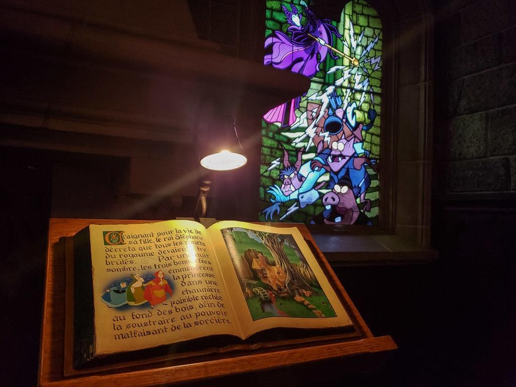 disneyland paris sleeping beaty castle book