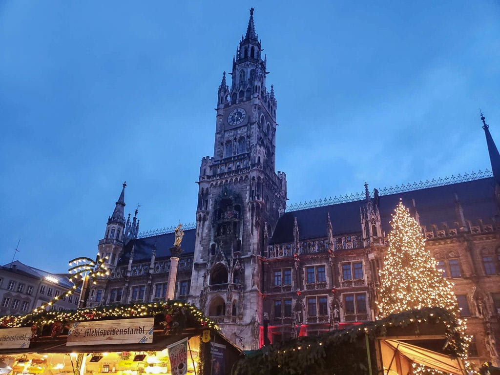 munich christmas market in germany
