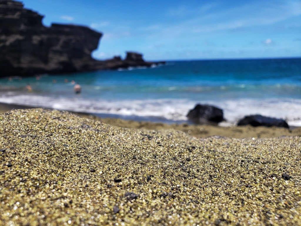Papakolea Green Sand Beach Big Island Hawaii