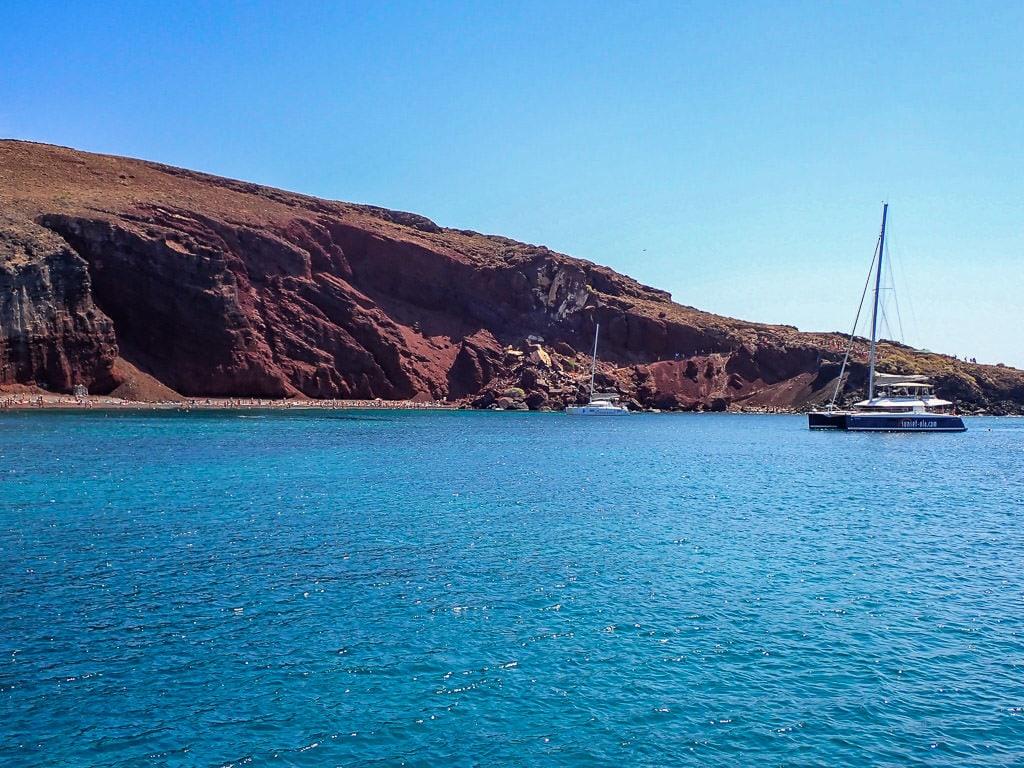 santorini sailing tour must-do santorini activity with sunset oia red beach