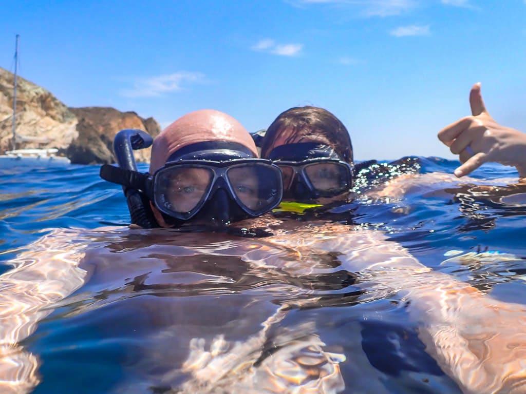 santorini sailing tour must-do santorini activity with sunset oia snorkeling