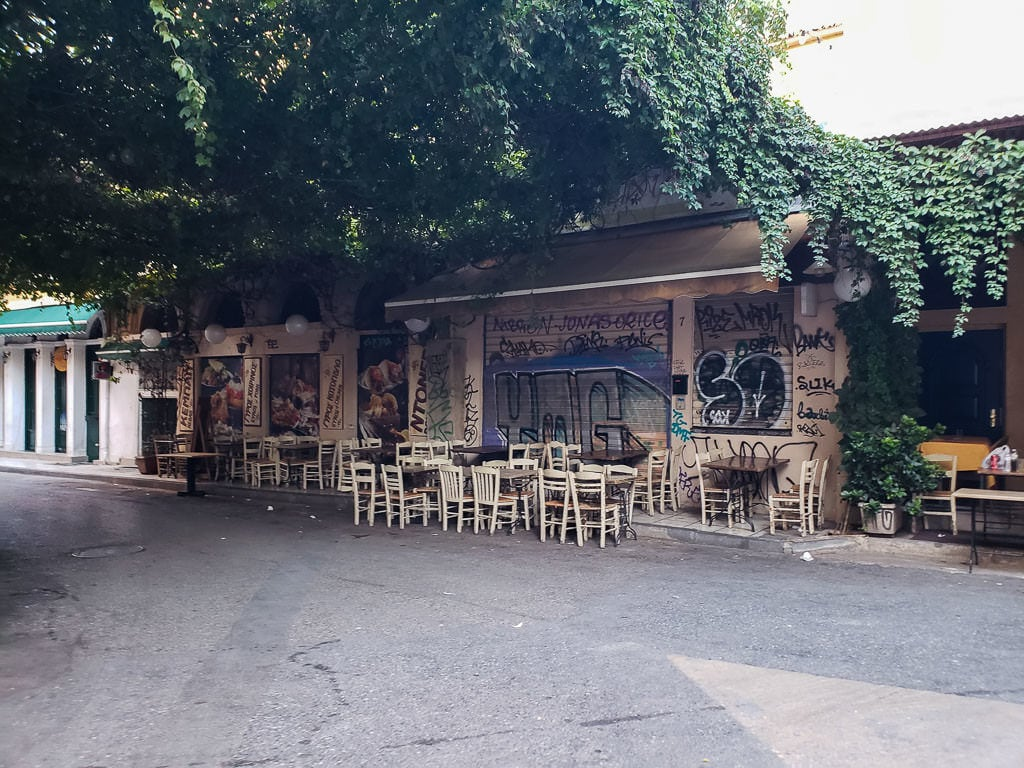 athens on a budget - 24 hours