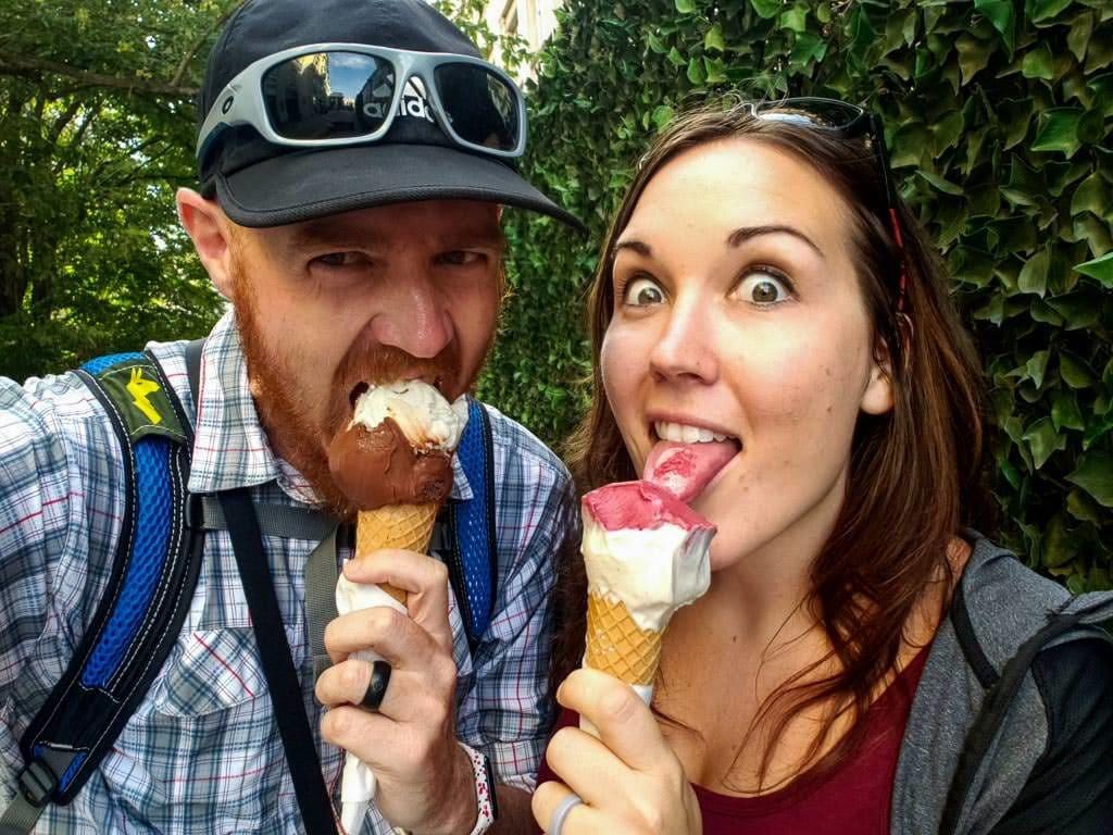 visiting bratislava - koun gelato