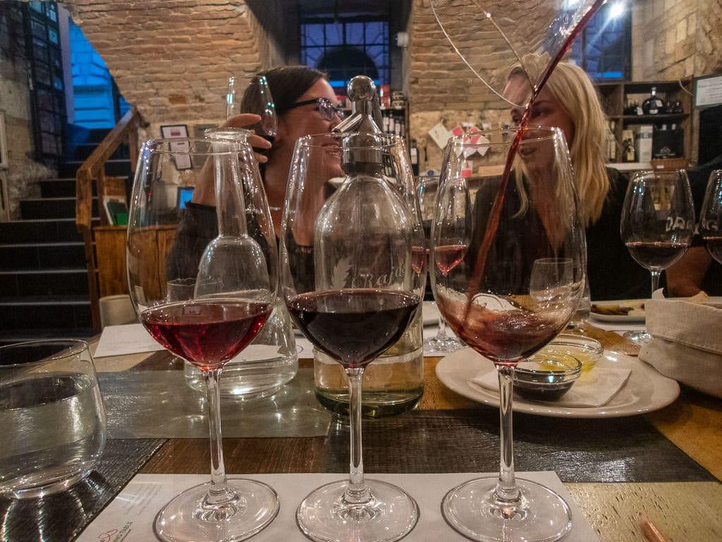 wine tasting in budapest tasting table